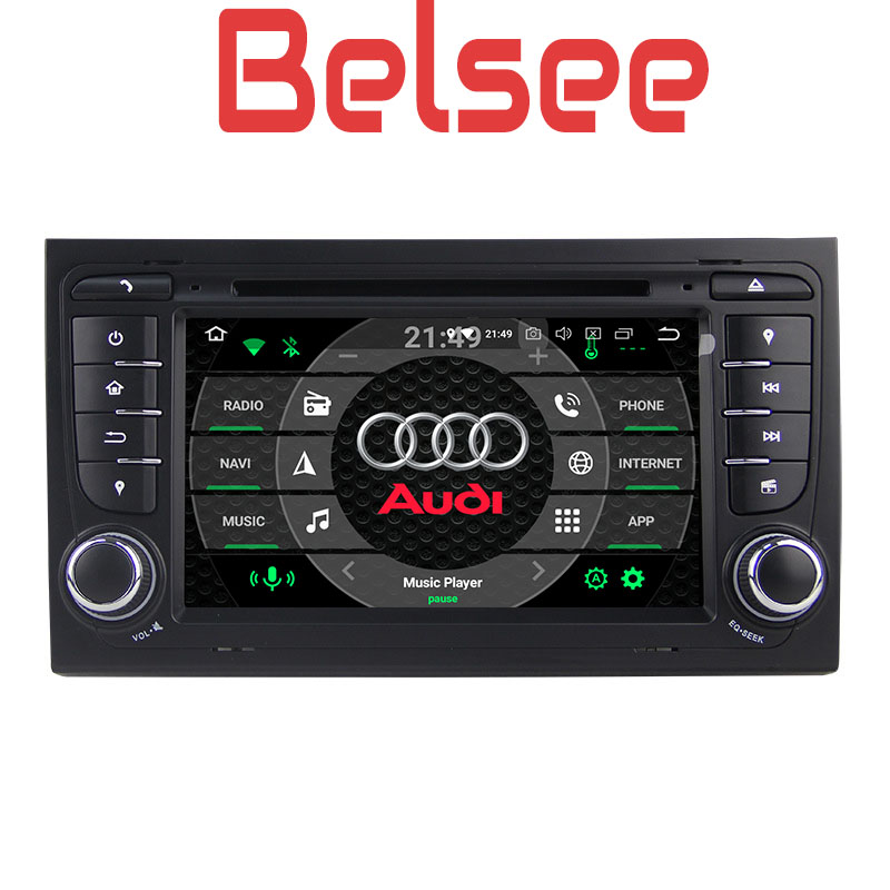 Belsee for Audi A4 S4 2002 2008 Android 8 0 Head Unit Car DVD Player Navigation