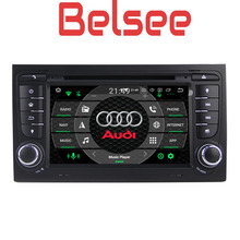 Belsee for Audi A4 S4 2002-2008 Android 8.0 Head Unit Car DVD Player Navigation GPS Multimedia Audio Autoradio Octa Core PX5 4GB