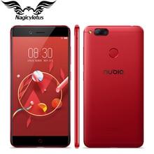 Оригинальный Нубия Z17 Mini 4 г LTE мобильный телефон 4 ГБ ОЗУ 64 ГБ ROM 5.2 дюймов 1920 x 1080px Спереди 16MP двойной сзади 13.0MP отпечатков пальцев NFC