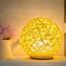 Jiawen креативный ночной Светильник Sepaktakraw, современный Настольный светильник с защитой глаз, прикроватный светильник для гостиной, 7 цветов, лампа с затемнением