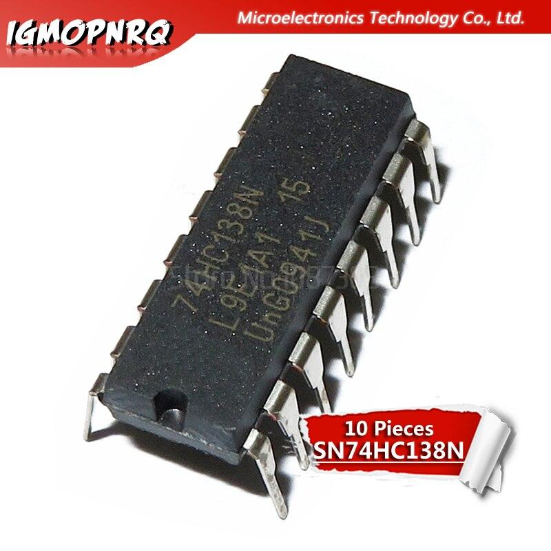 10PCS NEW SN74HC4051N 74HC4051 4051 IC DIP-16