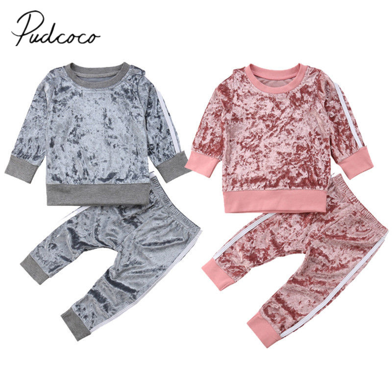 Weixinbuy Kids Toddler Girls Outfits Floral Round Collar Big Sister Little Sister Matching Outfits Sibling Clothes