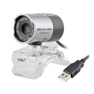 Original ANC Web Camera PC Computer Night Vision Webcam USB Free Driver HD Camera With Microphone Web Cam Webcamera(China)