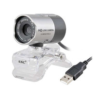 Original ANC Web Camera PC Computer Night Vision Webcam USB Free Driver HD Camera With Microphone