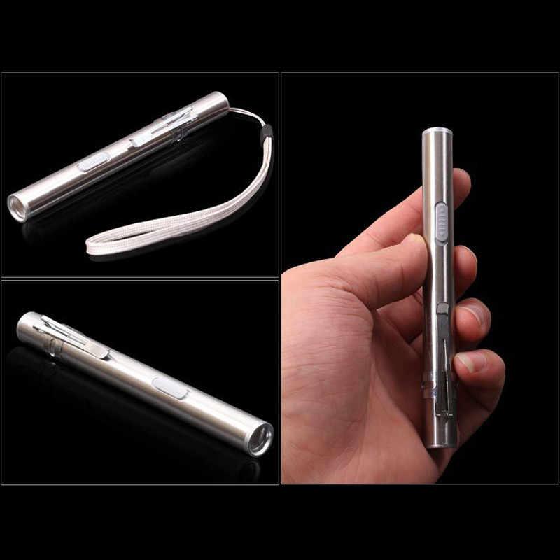 נייד פנס USB נטענת LED פנסים חיצוני עמיד למים מיני לפיד Keychain מנורת גבוהה באיכות לפידים אור