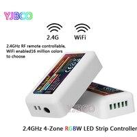 Miboxer FUT038 4-Zone 2,4G RF Wireless-LED Dimmer Controller WiFi Kompatibel für 5050 3528 RGBW RGB RGBWW streifen Licht Dimmer