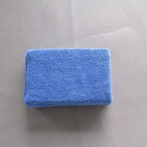 Image 2 - Éponges en microfibre pour nettoyage de voiture, tampons de polissage pour cire à main, 8 pièces/lot