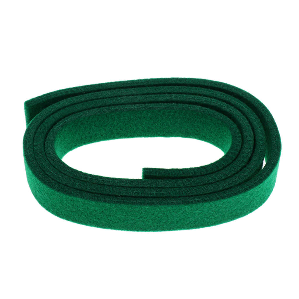 Tooyful Green Piano Spring Rail Felt for Piano Repair Replacement Parts