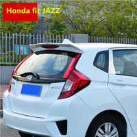 For Honda fit JAZZ 2014 2019 Rear Wing Spoiler, Trunk Boot Wings Spoilers ABS paint