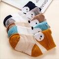 2017 Recién Llegado de Primavera Verano Calcetines de Bebé de Dibujos Animados Fox Media Neta Niño Calcetines Niños Niñas Calcetines de Algodón Hecho A Mano