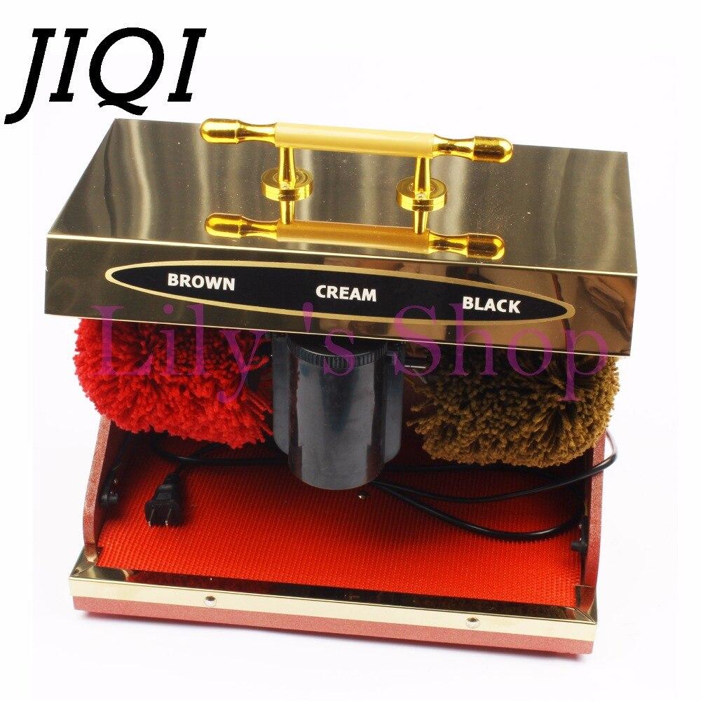 Mulher sapato De Couro homem Sapatos elétrica polidor de sapato elétrica mais limpa máquina de limpeza automática kit conjunto escova de sapato HOTLE casa
