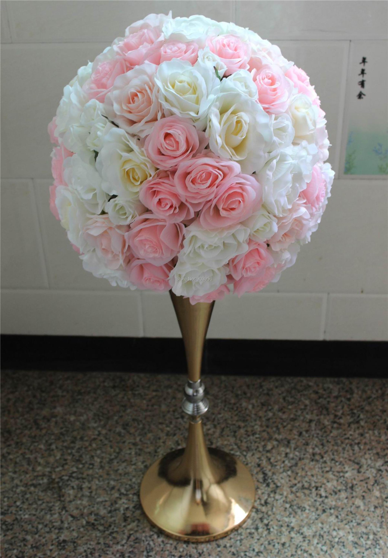 SPR 40cm Doprava zdarma svatební ozdobu stůl dekorace květiny Rose Pitaya Road olovo květ (pouze květiny) 2ks / lot