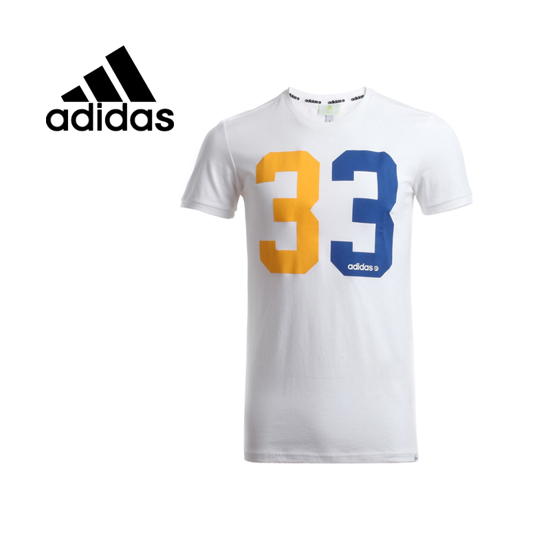 ФОТО Original  Adidas NEO men's    T-shirts  Sportswear