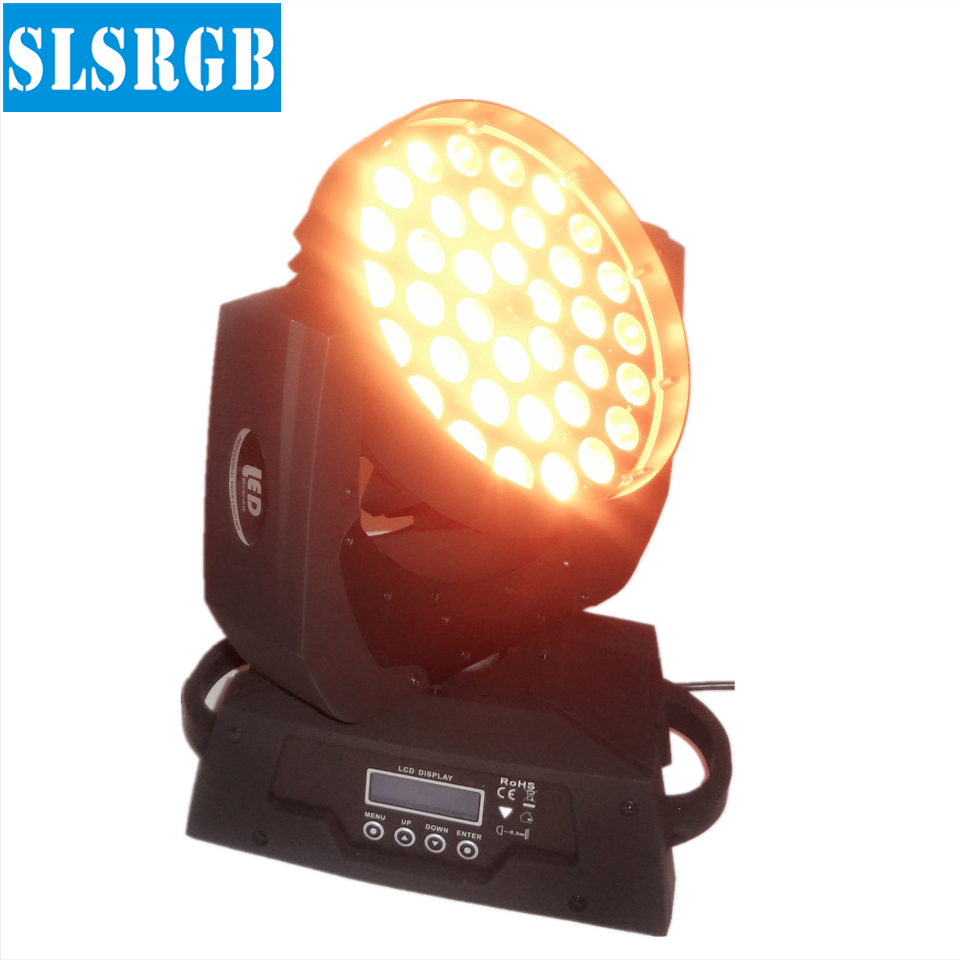 China new led dmx 5in1 rgbwa case 36 led moving head wash led dj effect light 36pcs 5in1 wireless dmx zoom Moving head wash led