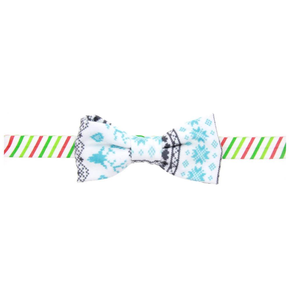Hair Accessories Xmas Hairband Bowknot Printing Girls Headband Headdress Hair Band Christmas Ornament New