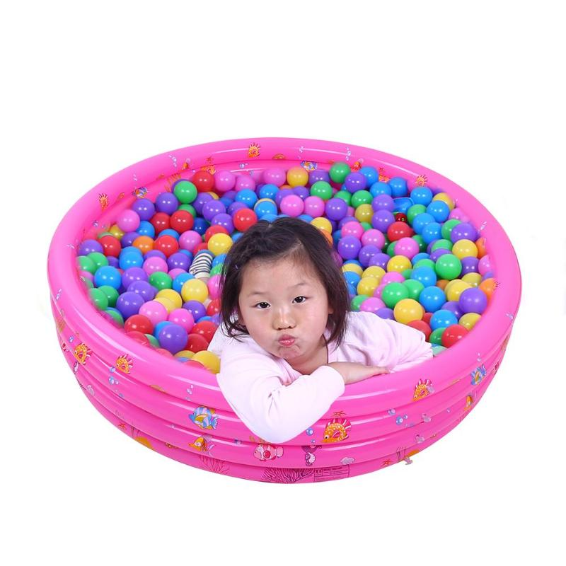 130cm/150cm Three colors Inflatable Pool Baby Swimming Pool Piscina Portable Outdoor Children Basin Bathtub Infant