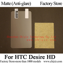 Matte Anti glare Screen Protector Guard Cover protective Film Shield For HTC Desire HD G10 A9191