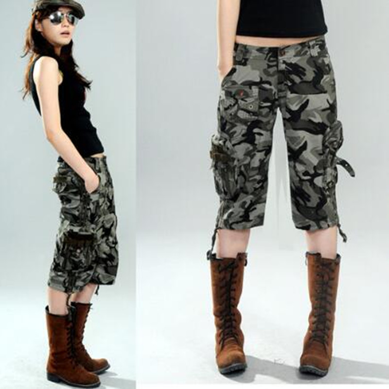 Camouflage Cargo Capris for Women Promotion-Shop for Promotional ...