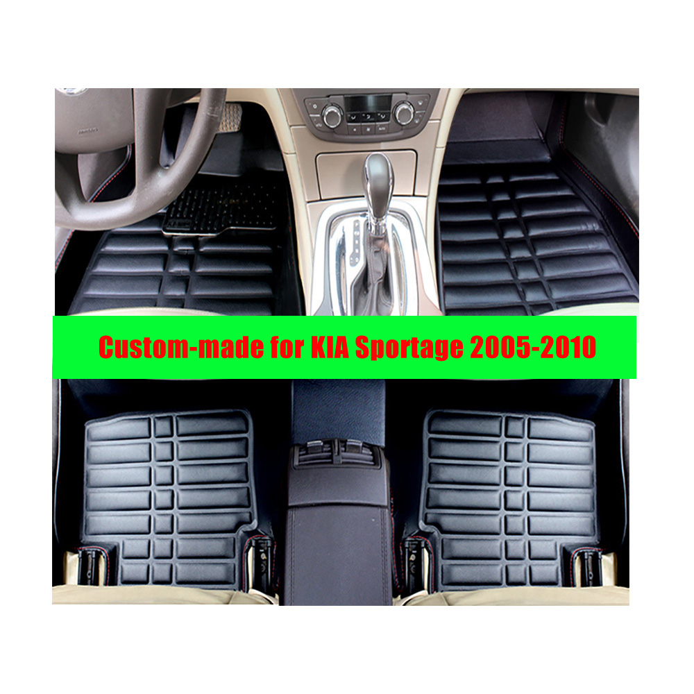 Floor mats kia - For Kia Sportage 2005 2010 Left Hand Drive Fly5d Car Floor Mats Front Amp Rear
