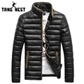 2017 Stand Collar Slim Fit Korean Style Men's Fashional Parka New Arrival Winter Warm Simple Design Man Outwear Coat MWM819