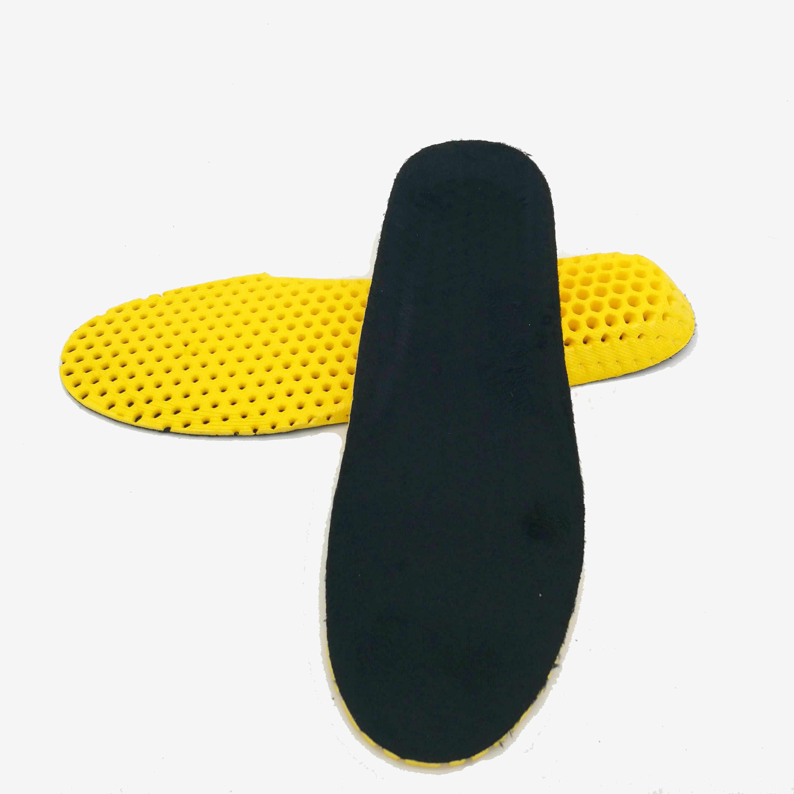 2018 Unisex ฤดูหนาวรองเท้า Pads shock absorption Insoles pads ขนสัตว์ breathable insole pad วิ่งกีฬา foot care