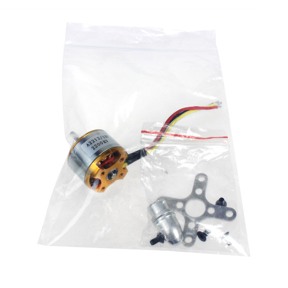 F02048 A 2212 A2212 2200KV Brushless Outrunner Motor Mount 6T For RC Aircraft Plane Multi-copter Quadcopter Drone +FS tiger motor t motor u power series u3 kv700 outrunner drone brushless motor for fpv uav aircraft multirotor copter rc plane