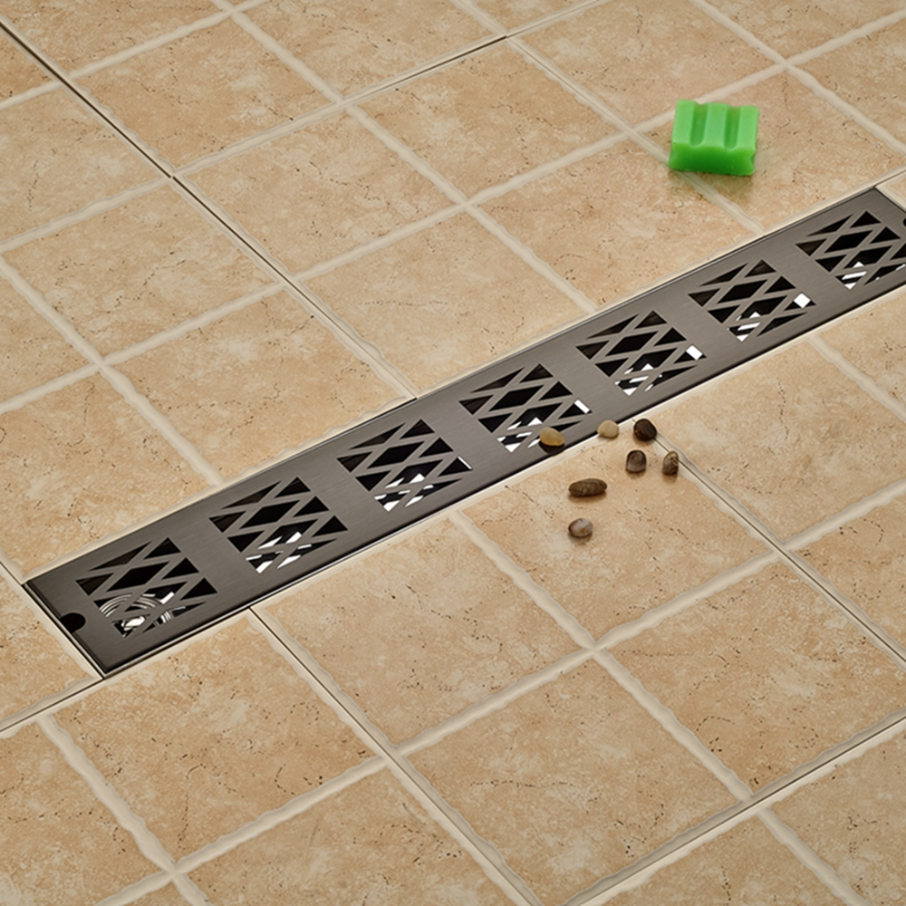 Bathroom Floor Drain : Wholesale and retail brushed nickel bathroom shower floor