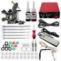 ITATOO Tatuagem Kit Máquina de Tatuagem Barato Definir uma Caneta Kit Tinta de Tatuagem Máquina de Suprimentos de Armas Para Bodyart TK104001 Arma Profissional