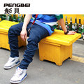Brand fashion winter men's clothing gym gasp sport baggy drop crotch hip hop cargo parkour jogger pants swag work harem trousers