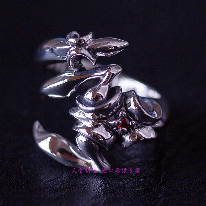 Thaïlande bijoux garçon anneaux Scorpion Thai bague en argent