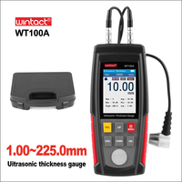 WINTACT Digital Ultrasonic Thickness Gauge Meter Tester USB Charging Digital Thickness Metal Tester High Precision WT100A/WT130A