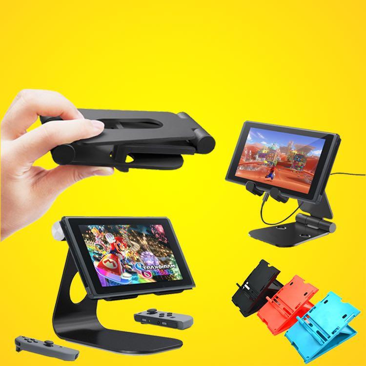 Stand Pour Nintendo Commutateur NS Jeu Console Support Réglable Angle Pliable Base Support pour iPhone