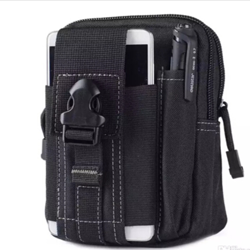 Fdbro Outdoor Tactical Bag Military Molle Waist Belt Pack Bag Sport Running Phone Case Climbing Camping Hunting Waist Bags Security & Protection
