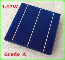 10PC 4 47W 3BB polycrystalline 6x6 solar cells 10pcs A Grade solar celll enough PV Ribbon