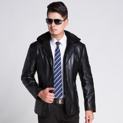 2015 winter leather clothing men brand leather jackets soft sheepskin business casual hooded fur coats for.jpg 250x250