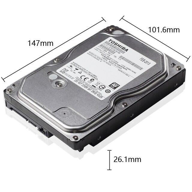 "Disco rígido toshiba, 1 tb 1000gb 1 tb hd interno hdd 7200 rpm 32m cache 3.5 ""35 sata iii para computador desktop 2"