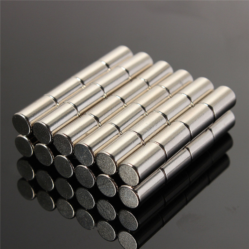 50pcs 6 x 10mm N50 Round Disc Cylinder Magnets Rare Earth Circular Permanent Neodymium magnet 6mm x 10mm Magnets qs 3mm216a diy 3mm round neodymium magnets golden 216 pcs