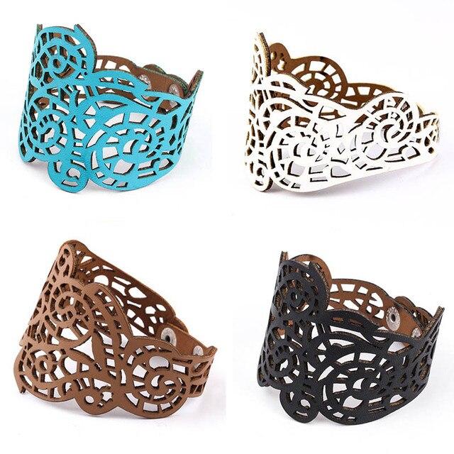 IF YOU Fashion Pearl Multilayer Leather Vintage Charm Pendant Bracelets 2