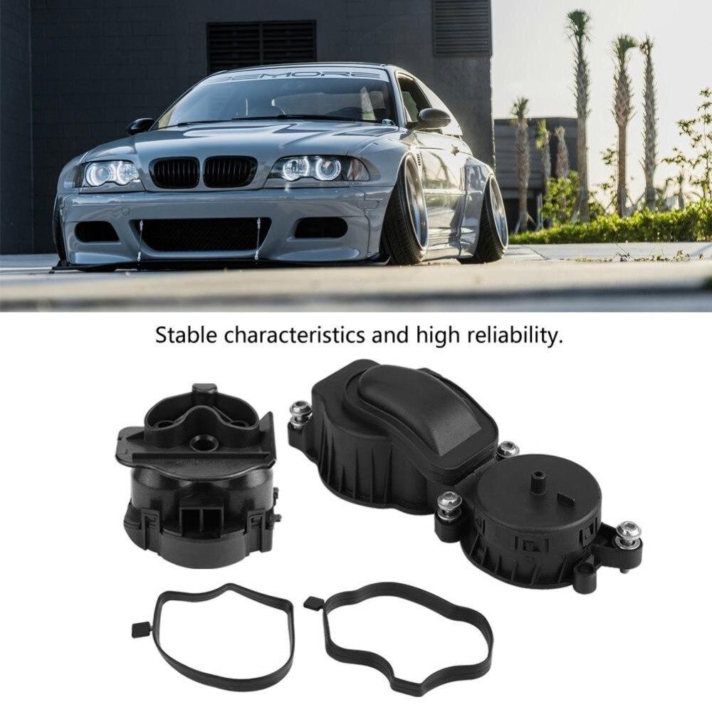 FITS BMW 3 5 SERIES E46 E39 X5 E53 CRANK CASE BREATHER OIL SEPARATOR FILTER KIT