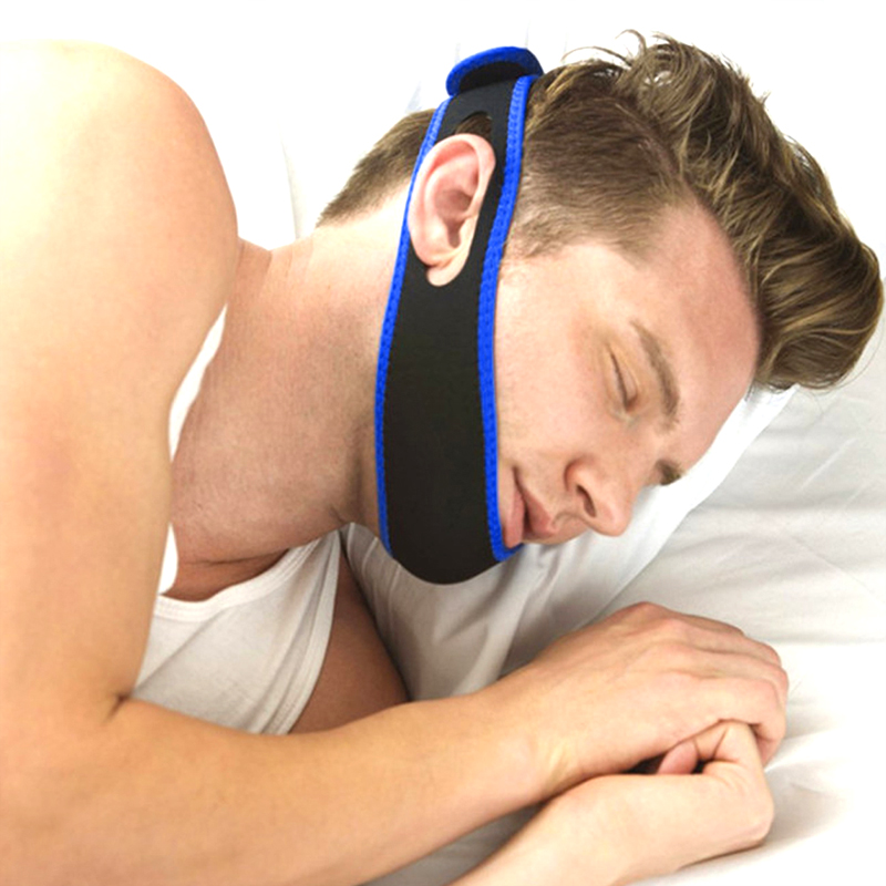 Купить с кэшбэком Anti Snore Solution Combination Adjustable Stop Snoring Chin Strap Anti-Snore Sleep Aid Snores Stopper Nose Vents Device