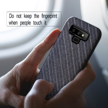 MOFi Suit Fabric with Silicone Edge Case for Samsung Galaxy Note 9