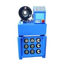 Купить с кэшбэком Upgraded P51 Press Machine Shrink Tube Machine Hydraulic Hose Pipe Press With 10 sets molds ,6-51MM, 3KW, 380V / 220V (optional)