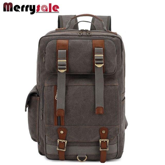 Европа мужские плечи мешок рюкзак мужчины рюкзак холст рюкзак