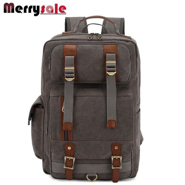 Europe men's shoulders bag backpack men backpack canvas backpack