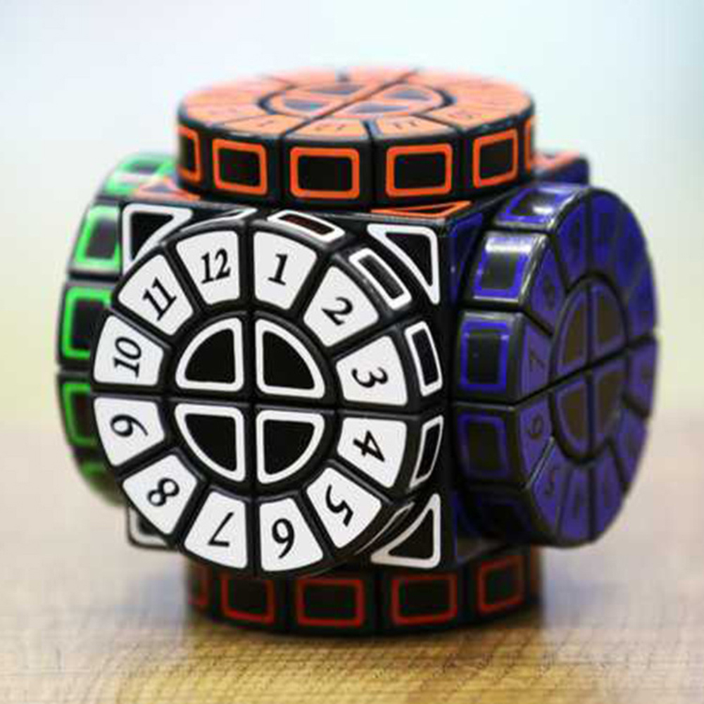 Time Machine Magic Cube Creative Souvenir Cube Puzzle Educational Toys for Children