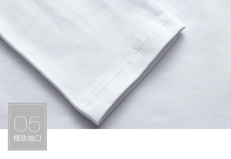 2017 Autumn new high-end men's brand t-shirt fashion Slim Dragon printing atmosphere t shirt Plus size long-sleeved t shirt men 12