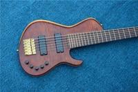 New Arrival China Custom Shop 6 Bass Guitar Fretboard Free Shipping