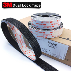 Image 2 - 3M SJ3550 adhesive Sotchmate fasterners with acrylic acid Dual Lock tape 1in*50yards 2rolls/carton