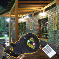 IP65 Christmas Laser Lights Outdoor Super Waterproof Garden Light Spotlight Light Star Projector Showers With Remote
