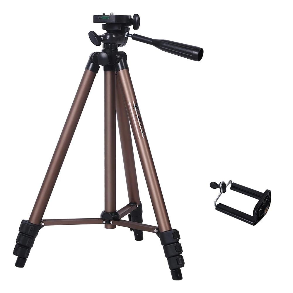 Taşınabilir Profesyonel kamera tripodu için Canon Nikon Sony DSLR Kamera  Kamera Mini Tripod Için Telefon Kamera Live Tripods
